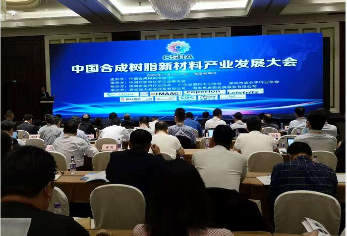 China Synthetic Resin New Material Industry Development Conference